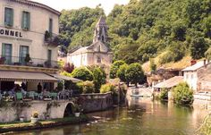 """Brantome in Dordogne, Aquitaine  """"An Ancient Corner of France Is Glorious Above and Below Ground"""" [1000 places to see before you die]"""