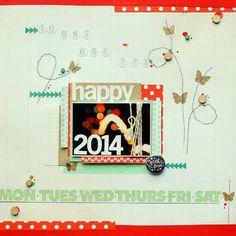 scrapki.pl: Happy 2014 by Ulietta