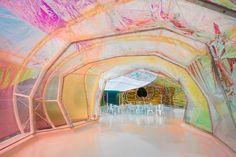 PRISM BREAK   Inside the new Serpentine Pavilion in London.