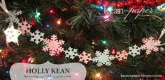 Love this garland...make with my cricut!!