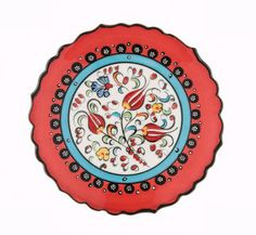 """This embossed plate can be used as a decoration item with its unique color in your house or as a gift for your loved ones  Impress your guests on your dining table (handwash only)  DIMENSIONS  5.9"""" / 15 cm Round"""
