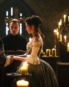 Caitriona Balfe as Claire Fraser inOutlander (TV Series, 2014).[x]
