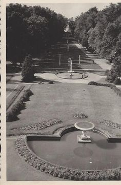 Neustrelitz Schlossgarten 1943