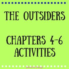 the outsiders book pdf chapter 5