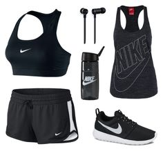 """Nike gym !"" by amore-e ❤ liked on Polyvore featuring NIKE and Master & Dynamic"