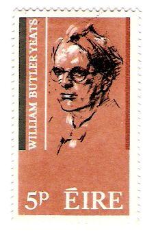 Literature on Stamps: William Butler Yeats