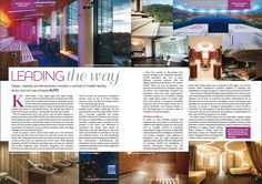 Design, creativity and extraordinary concepts: a portrait of market-leading sauna, pool and spa company KLAFS. Read more on our online magazine: http://owl.li/FHsX300mTpe