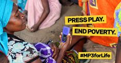 We provide accessible health education and life skills training to illiterate rural woman in developing countries. Let's change the world with an MP3 Player. Join #MP3forLife