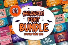 Halloween Fonts, Halloween Projects, Halloween Crafts, Gift Logo, Modern Fonts, Elegant Fonts, Embroidery Fonts, How To Make Tshirts, Premium Fonts