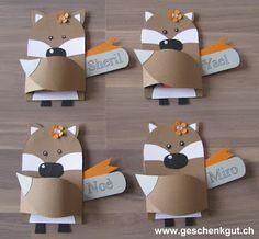 Tischdekoration Nameskärtchen Platzkarten Geburtstag Fest Feier