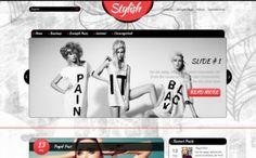 YES. Stylish Free WordPress Theme