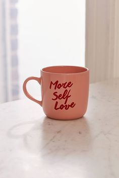 More Self Love Mug | Urban Outfitters
