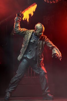 Friday Th 13th, Jason Toys, Evil Clown Costume, Horror Action Figures, Scared Straight, Scary Characters, Jason X, Horror Artwork, Zombie Hunter