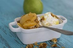 Fast, healthy pear crisp good any season