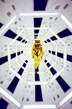April 6, 1968: Stanley Kubrik's 2001: A Space Odyssey opens. Photo: Actor Gary Lockwood on set (Dmitri Kessel/Time Life Pictures/Getty)