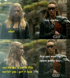 clexa pick up lines - Google Search