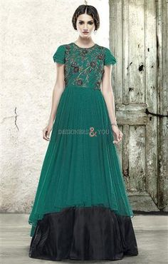 indian style dresses evening