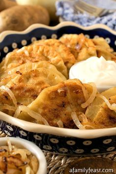 Pierogi @FoodBlogs