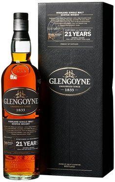 Glengoyne Single Malt Whisky 21 Jahre x l) Good Whiskey, Irish Whiskey, Bourbon Whiskey, Scotch Whisky, Fun Drinks, Alcoholic Drinks, Whiskey Bottle, Vodka Bottle, Alcohol Mixers