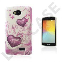 Westergaard LG F60 Deksel - Sommerfugler og hjerter Smartphone, Phone Cases