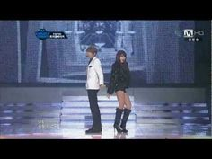 I HAD to start a pin board with this. Had to.    [HD] 111215 Trouble Maker (JS & HyunA) - Trouble Maker