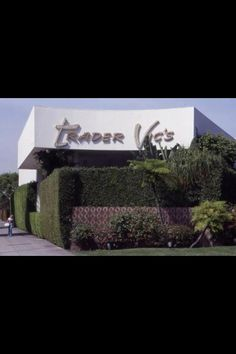 Trader Vic's every year my BFF Jenny & I would go to the Beverly Hills Hilton Hotel & have drinks at Trader Vic's I miss that place!!!