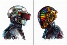 Daft Punk - Tim Doyle - 2014 ----