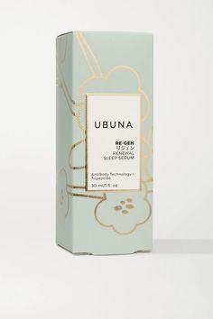 Re-Gen Renewal Sleep Serum Bottle Packaging, Brand Packaging, Packaging Ideas, Serum, Packaging Design Inspiration, Beauty Skin, Shea Butter, Branding Design, How To Apply