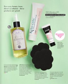 Beauty problems? What beauty problems? We've got you covered...*cough...even down there. #themagazine