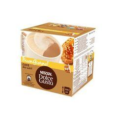 NESCAFE Dolce Gusto Cafe au Lait. Café con leche.  La elección perfecta para tu desayuno diario.