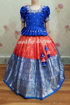 Indian Dresses For Kids, Gowns For Girls, Dresses Kids Girl, Kids Dress Wear, Kids Gown, Baby Frocks Designs, Kids Frocks Design, Girls Frock Design, Kids Lehanga Design