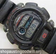 Casio G-Shock DW-9052 Mens Digital Watch Running