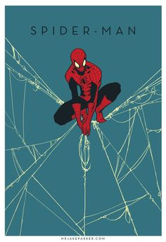Spectacular Marvel Character Art Series by Jake Parker — Gee.-Spectacular Marvel Character Art Series by Jake Parker — GeekTyrant Spectacular Marvel Character Art Series by Jake Parker — GeekTyrant - Amazing Spiderman, Spiderman Kunst, Spiderman Marvel, Parker Spiderman, Images Of Spiderman, Spiderman Original, Spiderman Poster, Spiderman Drawing, Comic Book Characters