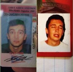 Tyler always takes the best ID photos
