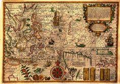mapas de la antiguedad