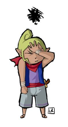 Tetra facepalm. When people say link is zelda,(I've done it too).                  :z
