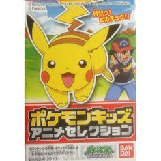 Pokemon 2010 Bandai Pokemon Kids Anime Selection Series Pikachu Figure