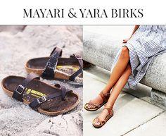 Mayari Birkenstock and Yara Birkenstock
