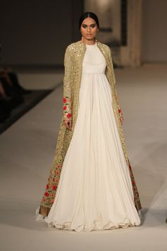 Long jackets and flowy white anarkali is the thing this summer. Check out the…