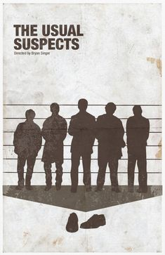 The Usual Suspects - movie poster - Sana Sini