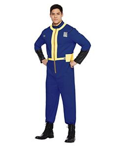 Spirit Halloween Adult Men's Vault Dweller Costume - Fallout -- Awesome products selected by Anna Churchill