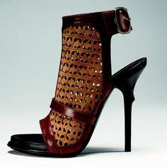 Roger Vivier Epin' Elle Filoche Sandal with Thorn Heel