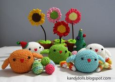 Ravelry: Four Seasons Birds Amigurumi Crochet Pattern pattern by Sayjai Thawornsupacharoen