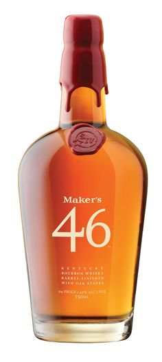 Maker's 46 Bourbon.  One of my favorites.  A smooth caramel and cinnamon flavored bourbon.