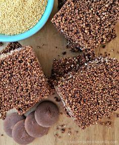 Gluten-free chocolate amaranth bars