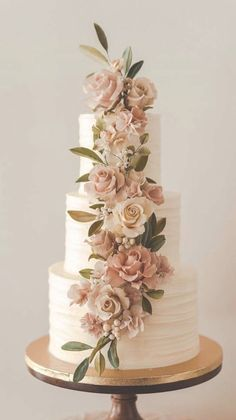 The 50 most beautiful wedding cakes wedding cake ideas great wedding cake . - The 50 most beautiful wedding cakes wedding cake ideas great wedding cake Cakes for your eve - Pretty Wedding Cakes, Black Wedding Cakes, Floral Wedding Cakes, Amazing Wedding Cakes, Wedding Cakes With Flowers, Wedding Cake Designs, Wedding Themes, Wedding Colors, Wedding Decorations