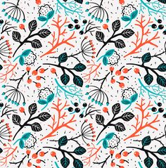 Vector set of abstract and stylised patterns on Behance - Anna Aniskina