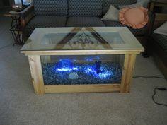 DIY coffee table fish tank