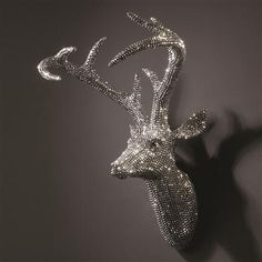 Opulent Stags - Star Studded Stag, 50x35x23cm