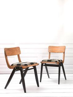 DOMOWO - krzesła fotele lata 60 PRL » Meble